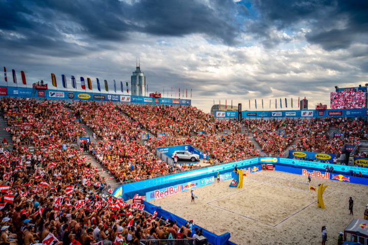 Beachvolleyball: Beach Major Series 2019, Vienna