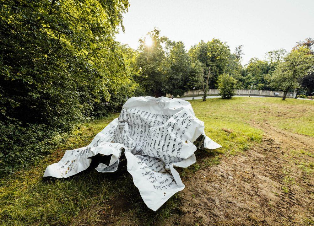 Esther Stocker Skulpturenkunst
