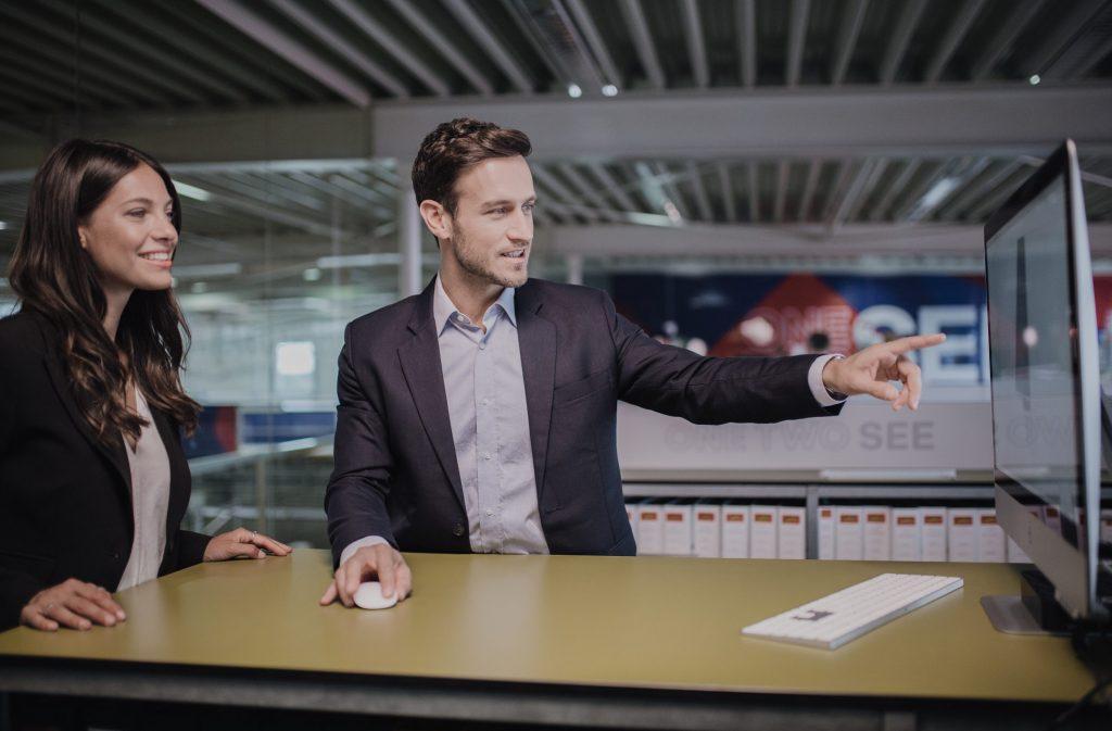 Digitalisierung Kunde Meeting