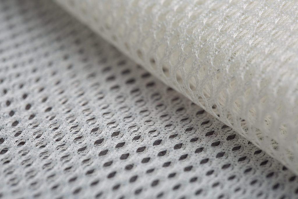Nahaufnahme Textilfaser